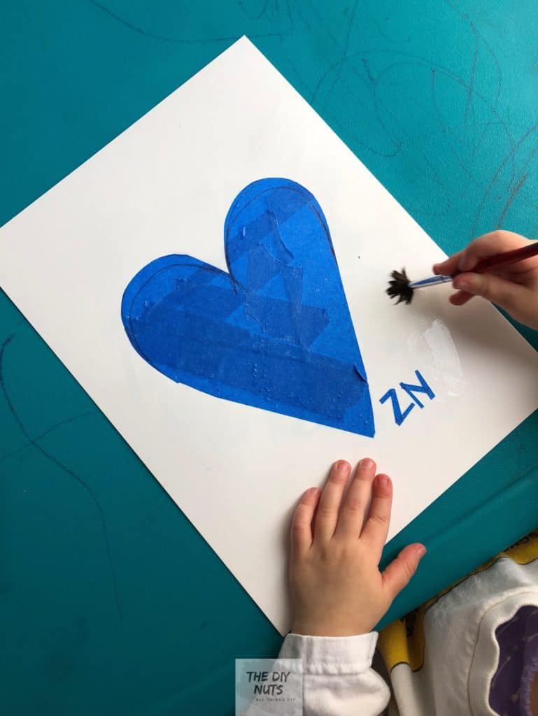 Awesome Heart Art for Kids and Toddlers