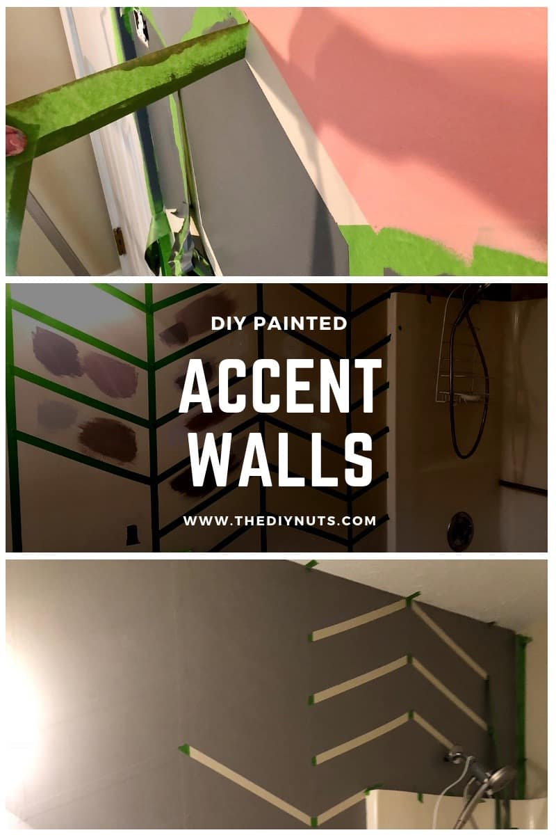 DIY Painted Accent Wall Home Decor Ideas
