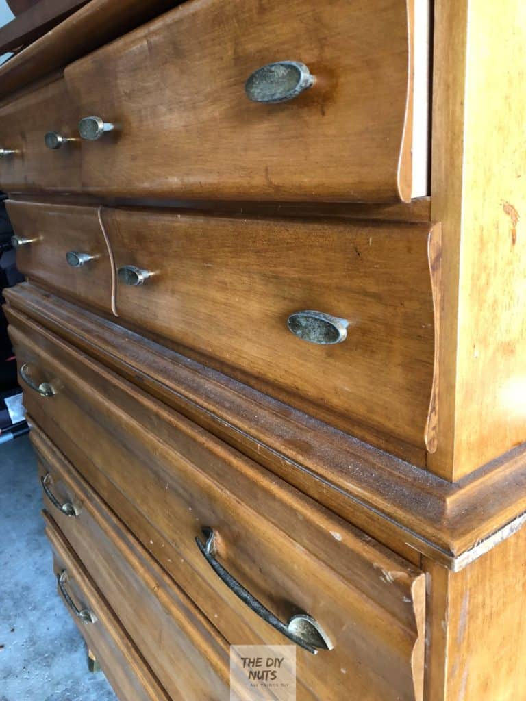 Free dresser found on Facebook Buy-Sell-Trade Groups