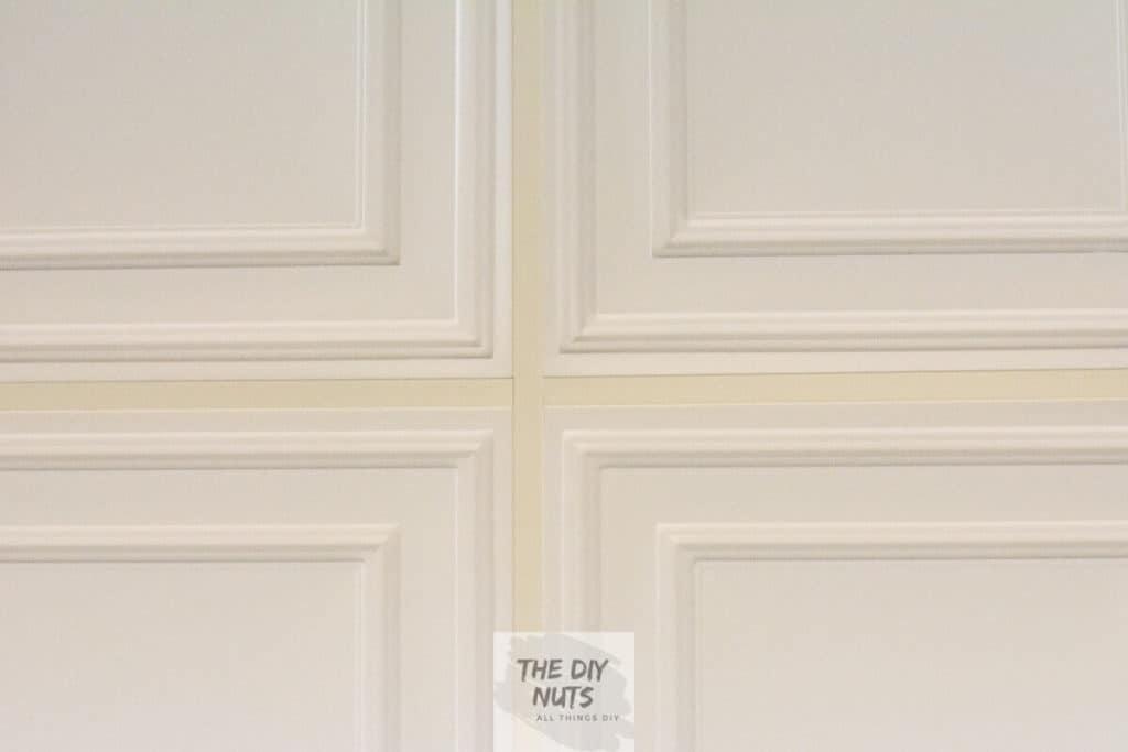 Celuime Stratford Ceiling Tiles in DIY Basement Makeover