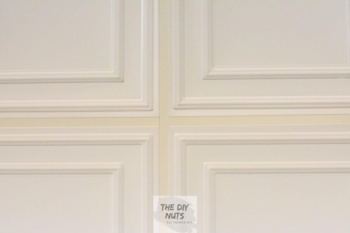 Ceilume Stratford Ceiling Tiles in DIY Basement Makeover