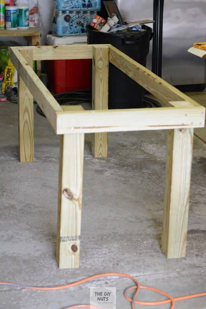 Table Frame for DIY Outdoor Furniture