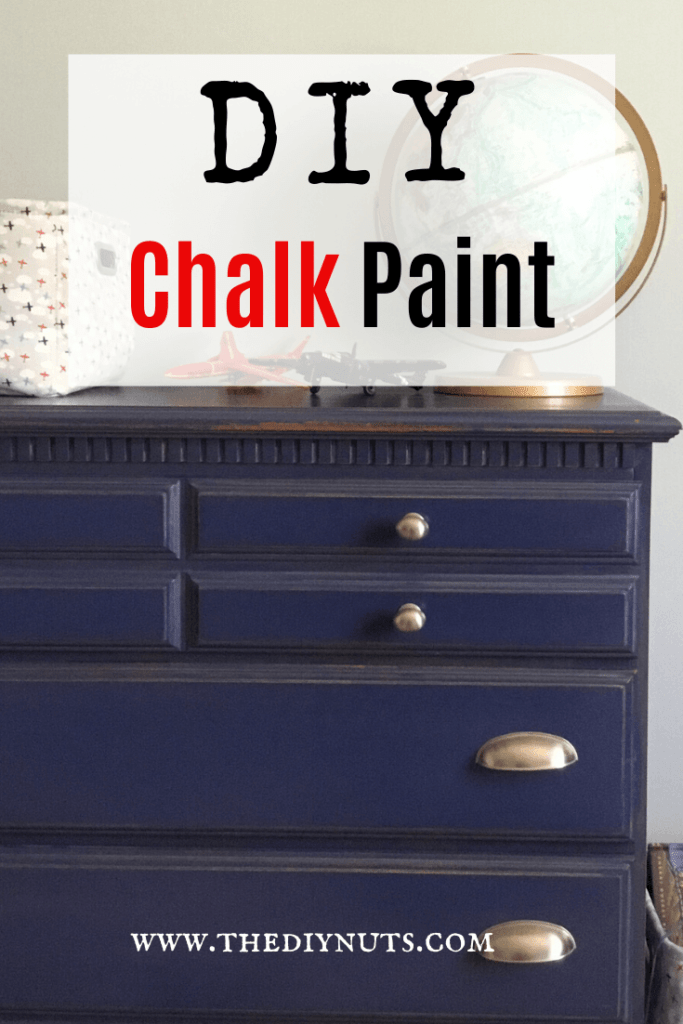 DIY Chalk  Paint Recipe to help redo furniture