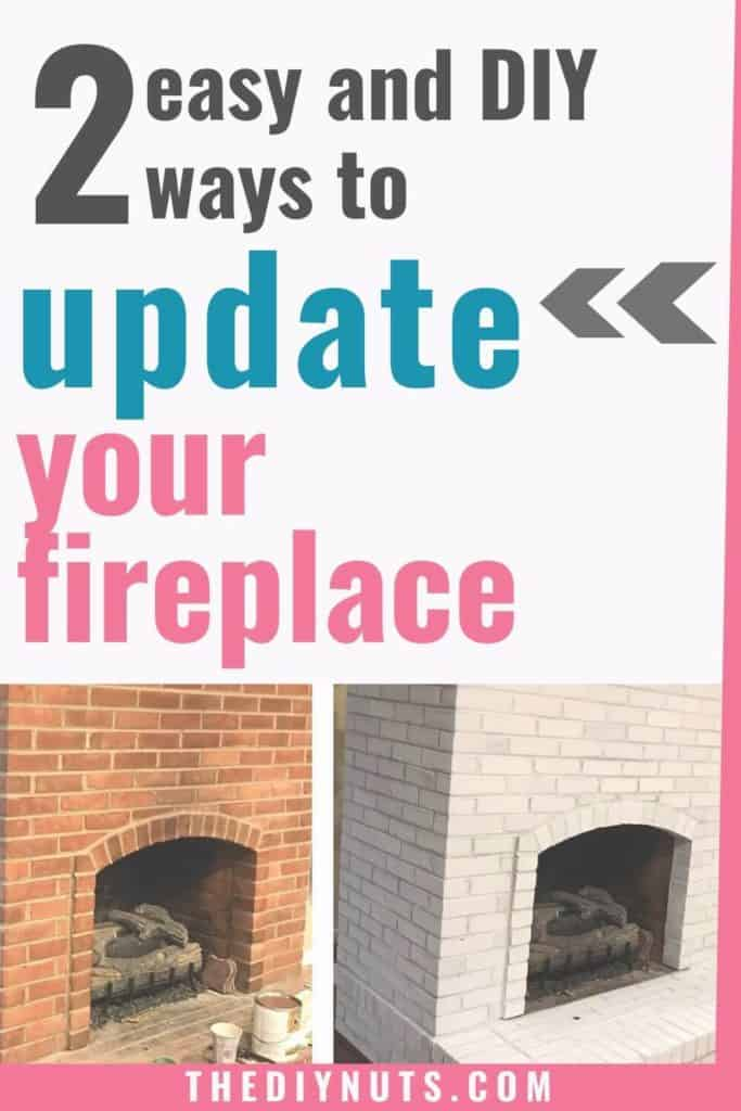 Easy ways to update your fireplace