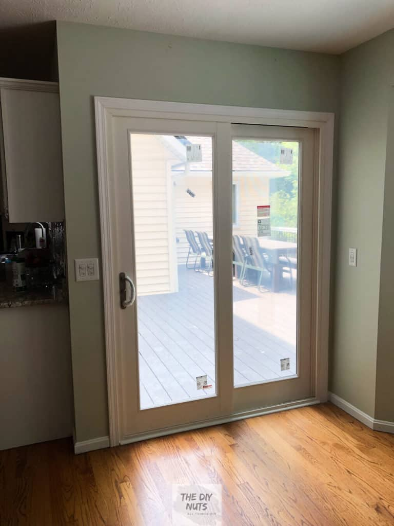 Sliding doors to large deck