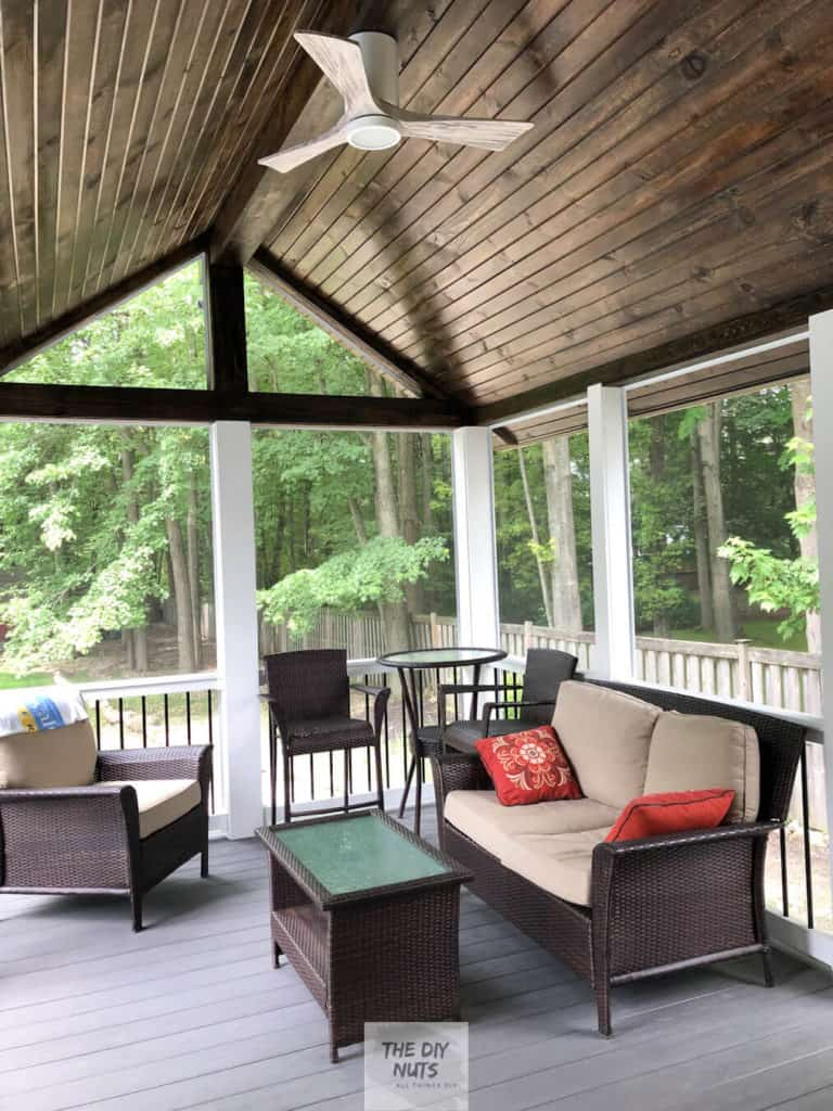Screened-in porch idea
