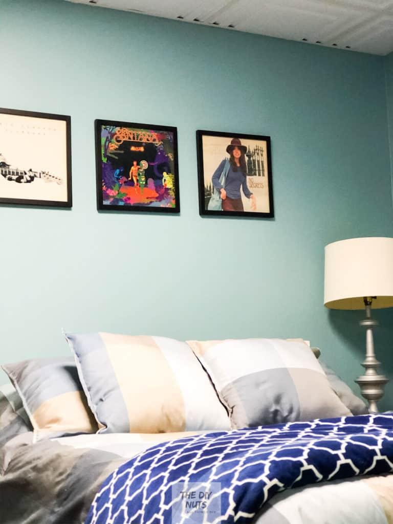 DIY Basement Bedroom Idea