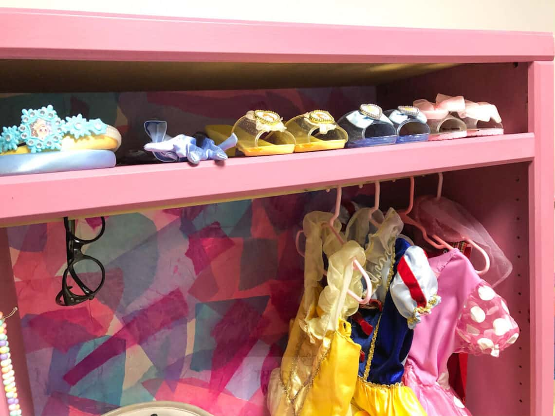DIY Children's Dress-up Clothes Storage Ideas