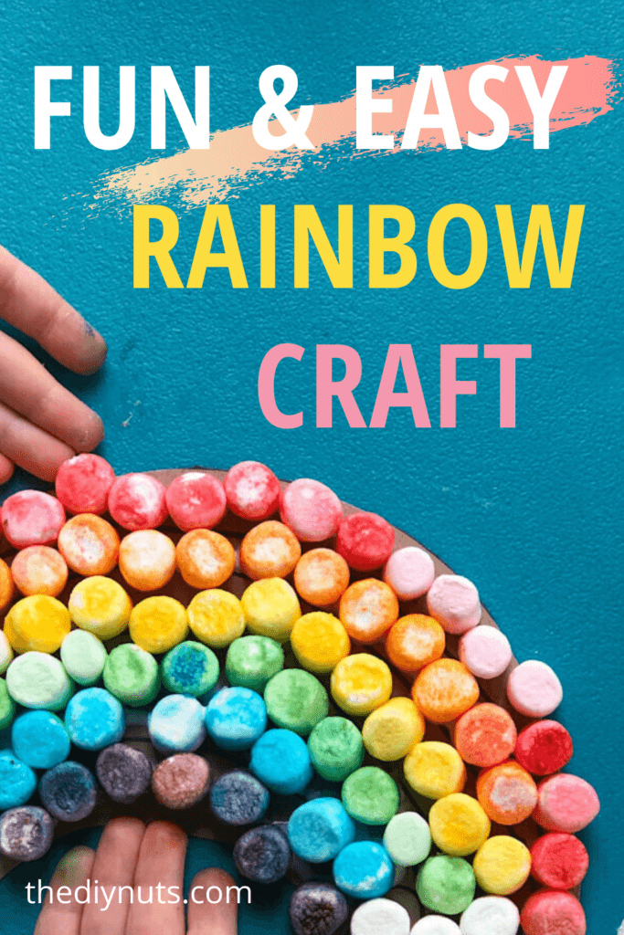 Fun and Easy Rainbow Craft for kids