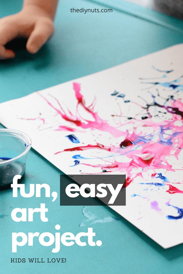 Fun, easy art project kids will love