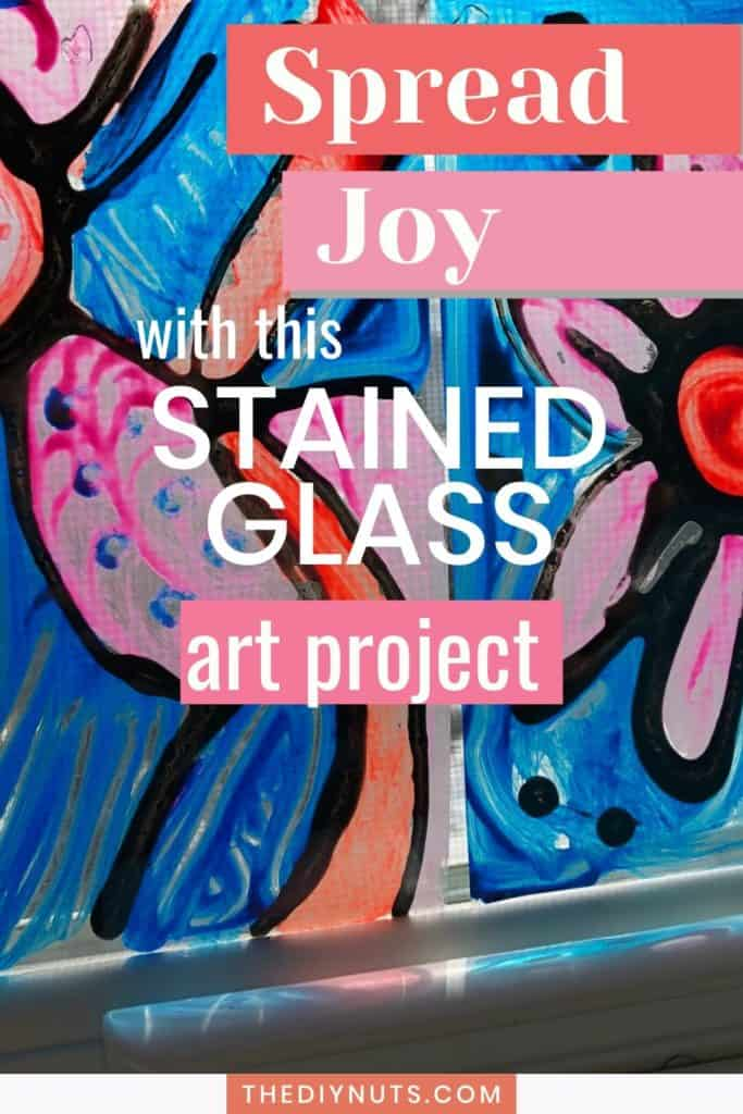 Spread joy with this stained glass art project