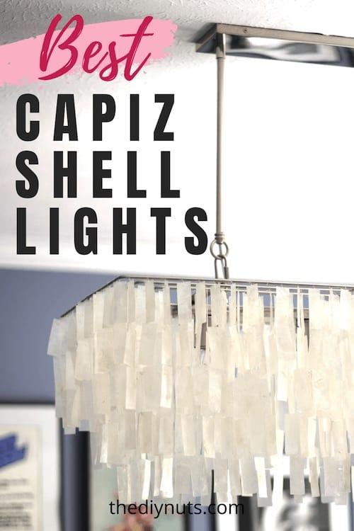 Best Capiz Shell Lighting Fixtures
