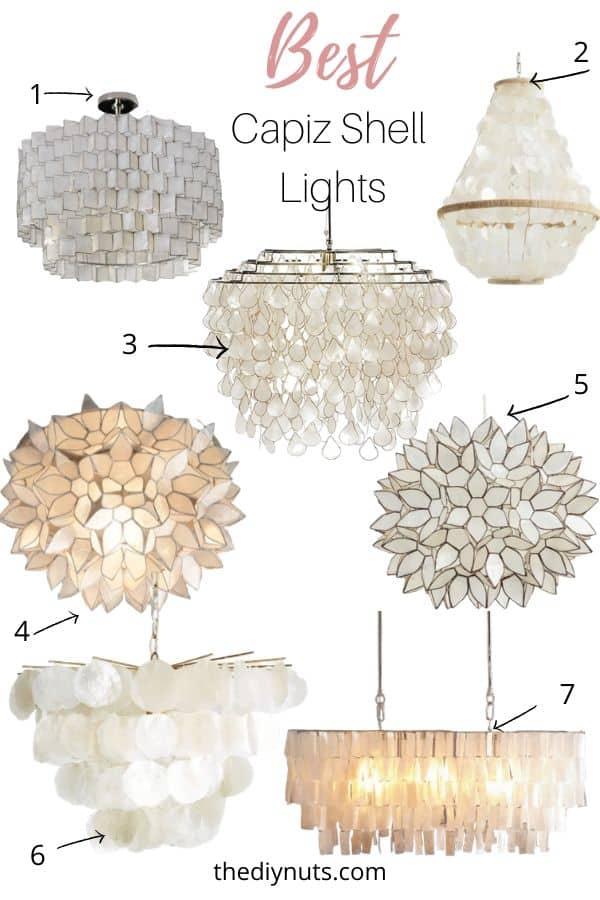 Best Capiz Shell Lights
