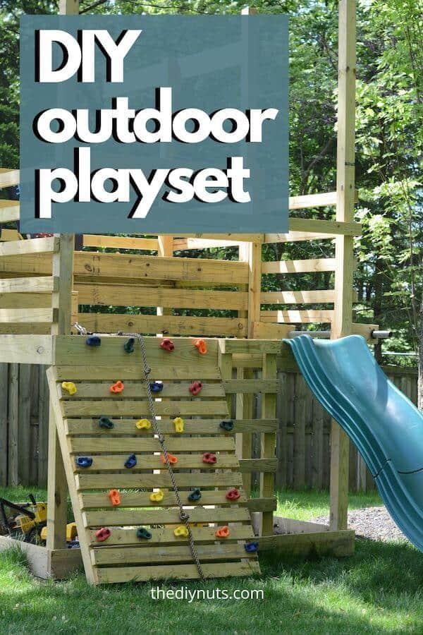 DIY Outdoor playset