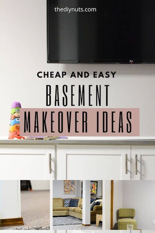 Cheap and Easy Basement Makeover Ideas