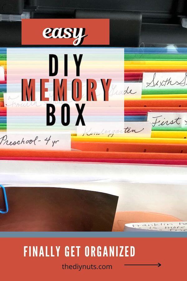 Easy DIY Memory Boxes