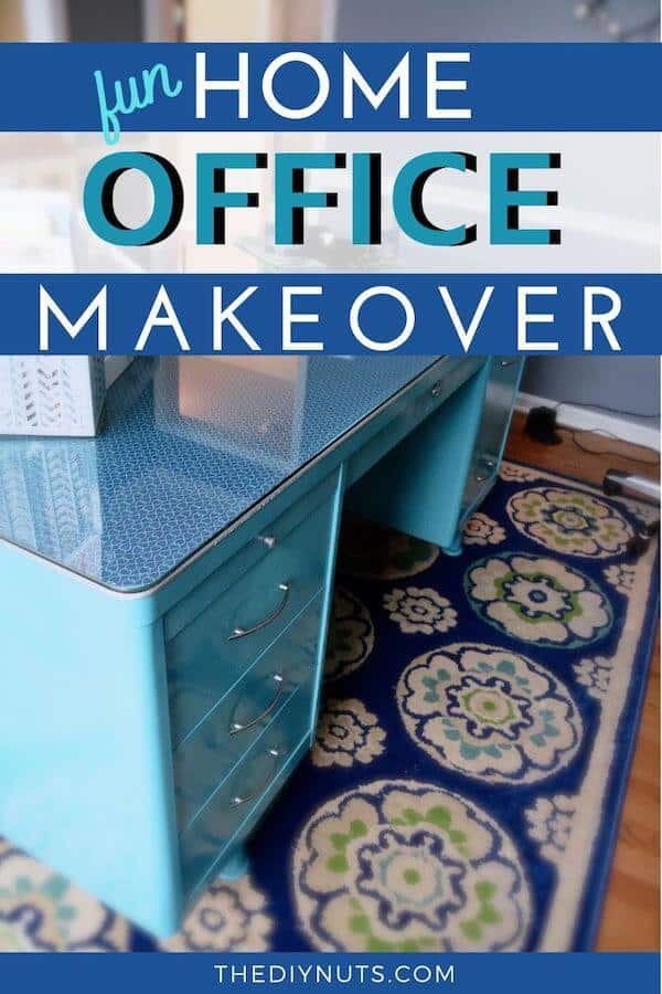 Fun Home Office Makeover