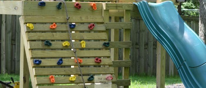 DIY Outdoor Playset
