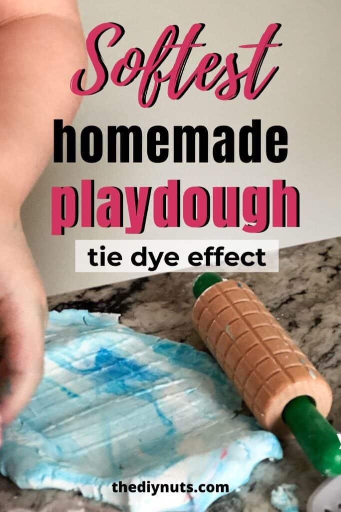 Softest homemade playdough