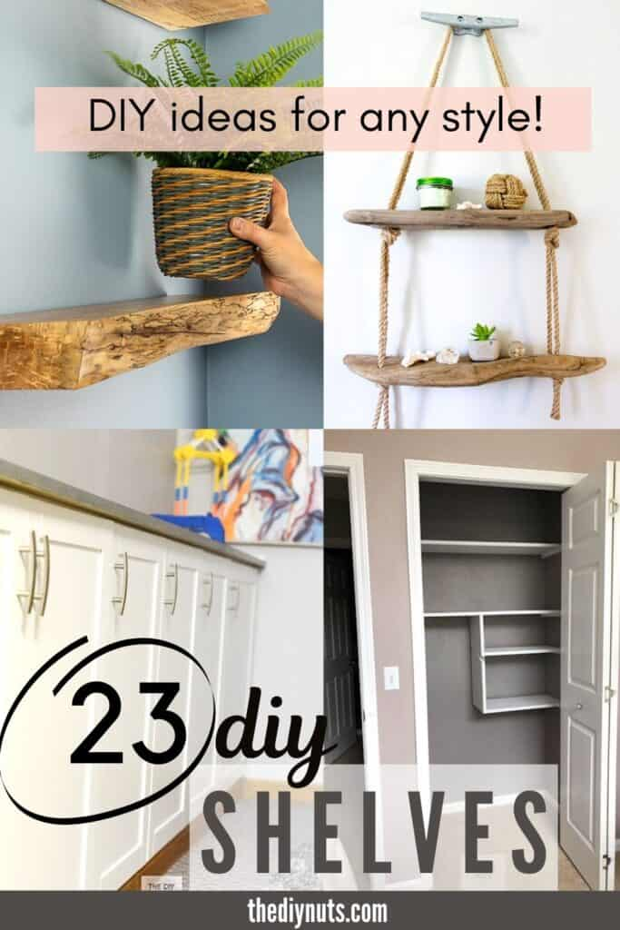 23 DIY Shelves