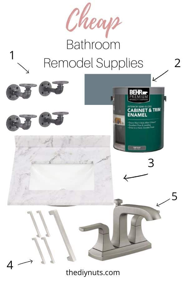 Bathroom Remodel Supplies