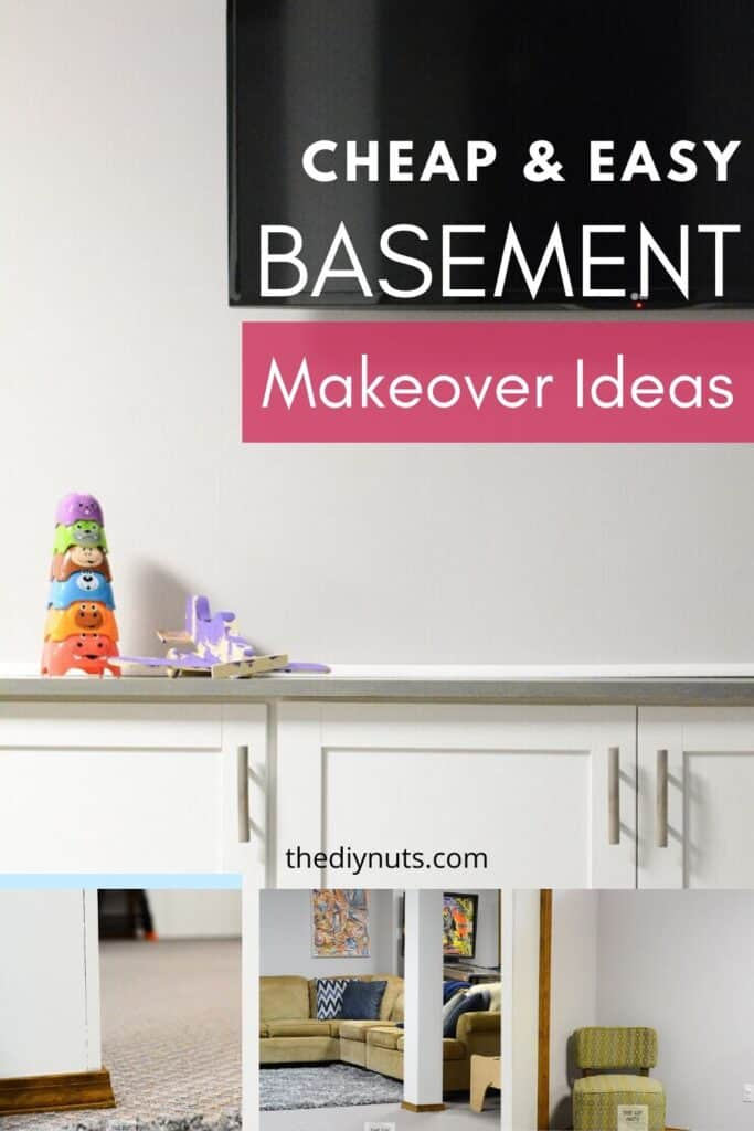Diy Budget Basement Makeover Ideas Easy Weekend Diy Projects The Diy Nuts