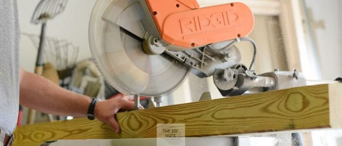Circular saw used for DIY home projects