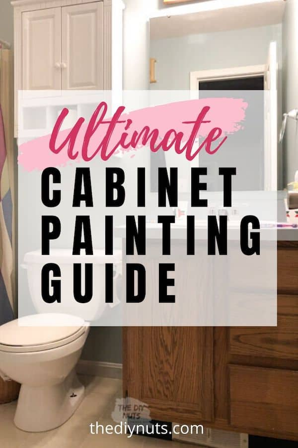 Ultimate Cabinet painting guide