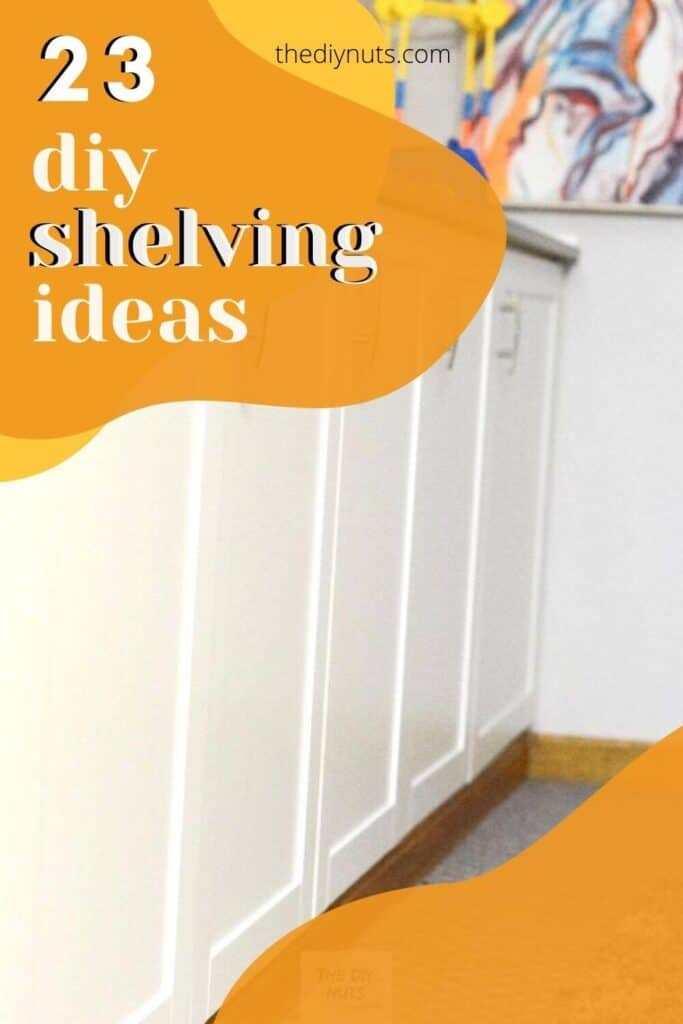23 DIY Shelving Ideas