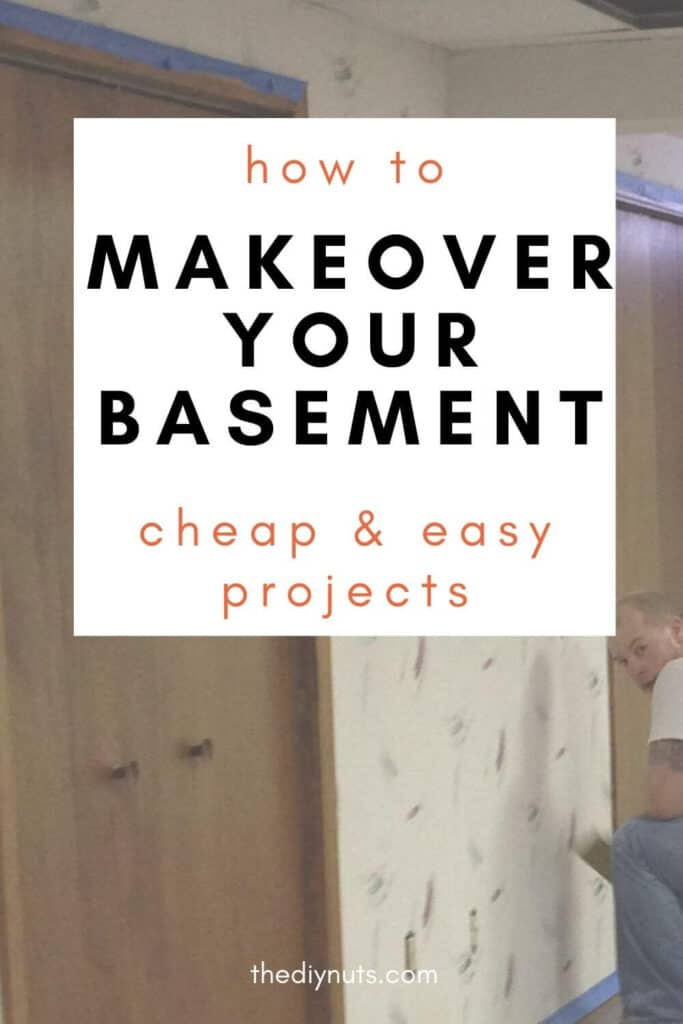 how to makeover your basement