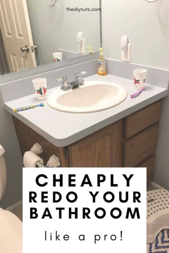Cheaply Redo Your Bathroom