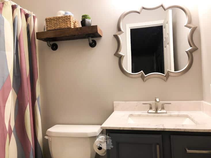 Simple bathroom makeover