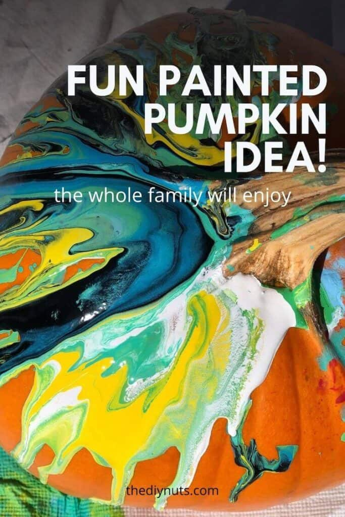 Fun painted pumpkin idea