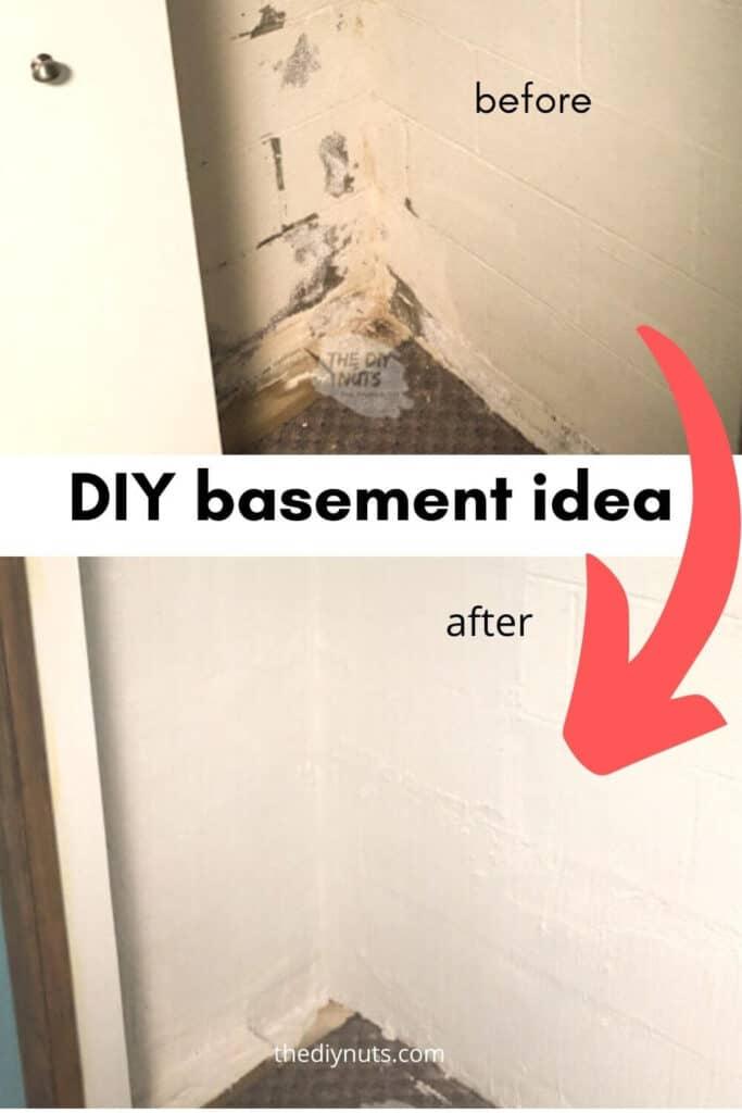 DIY Basement Idea: Masterseal 581