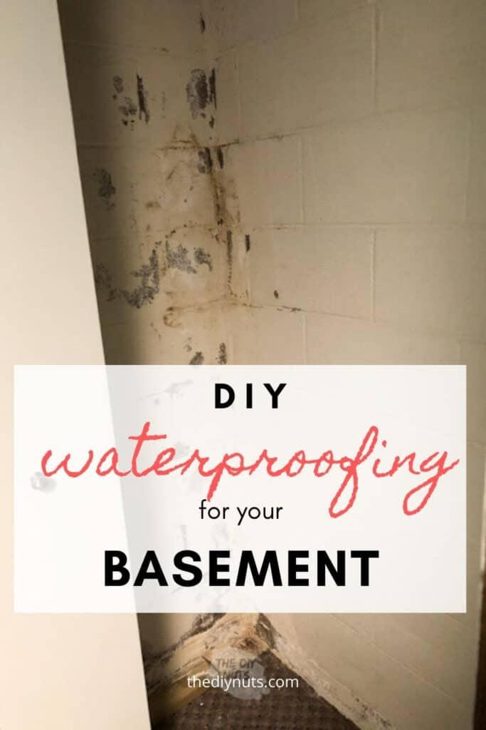 DIY waterproofing for your basement