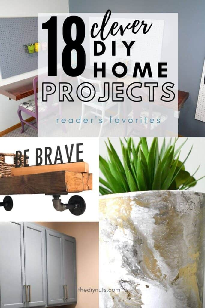 18 Clever DIY Home Projects