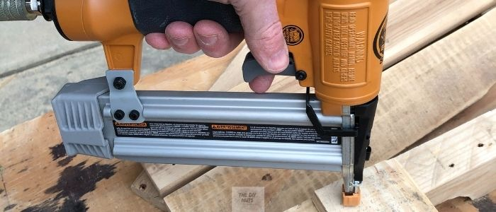 Nail gun for DIY projects