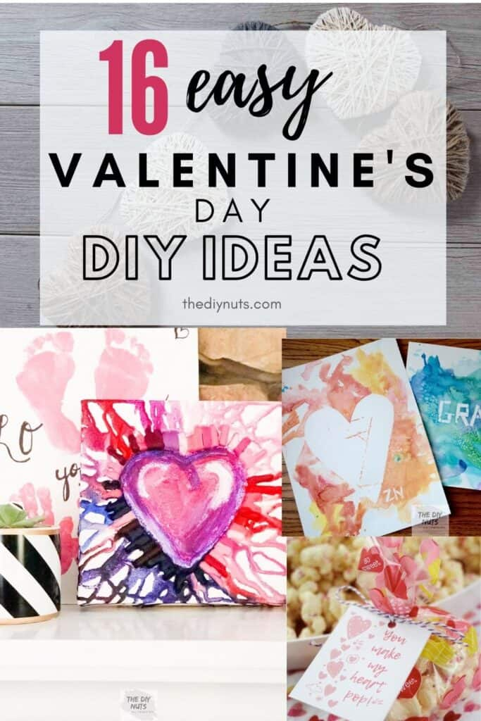 16 easy diy valentine's day diy ideas with heart projects