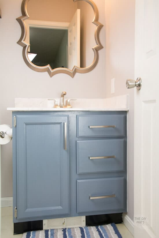 How To Paint Bathroom Vanity Cabinets That Will Last The Diy Nuts
