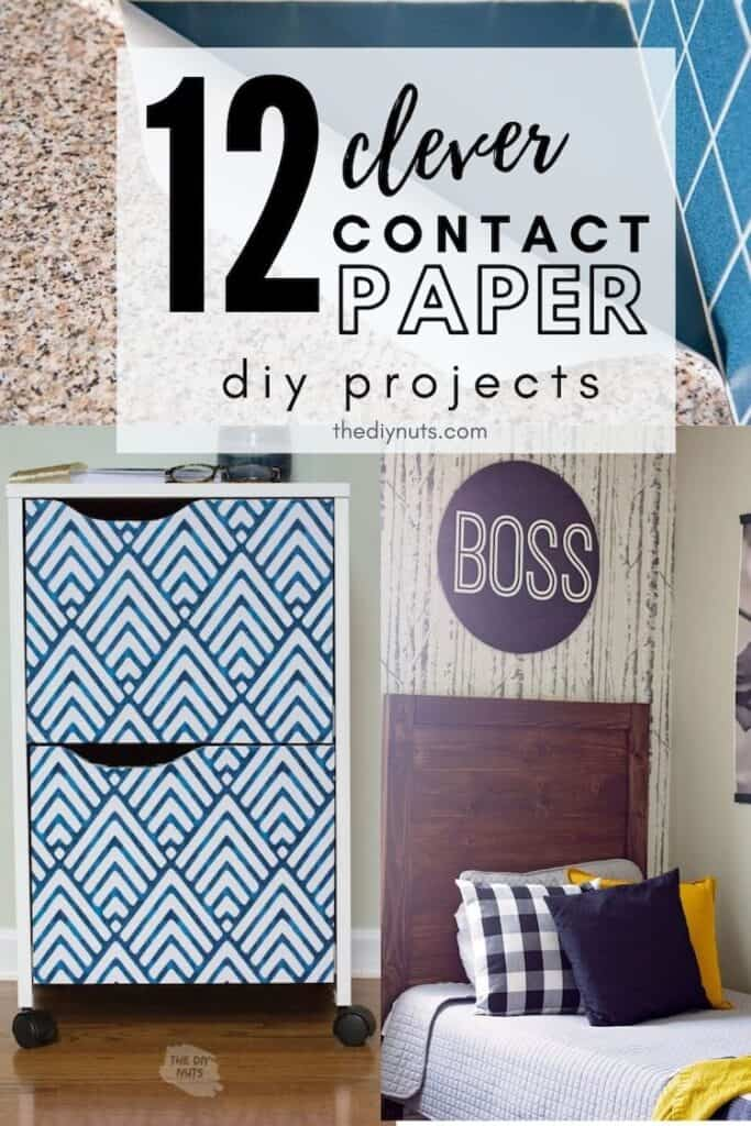 12 clever contact paper diy projects