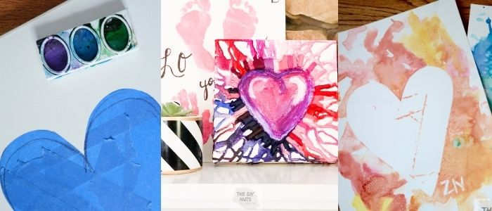 Heart Art Projects for Valentine's Day