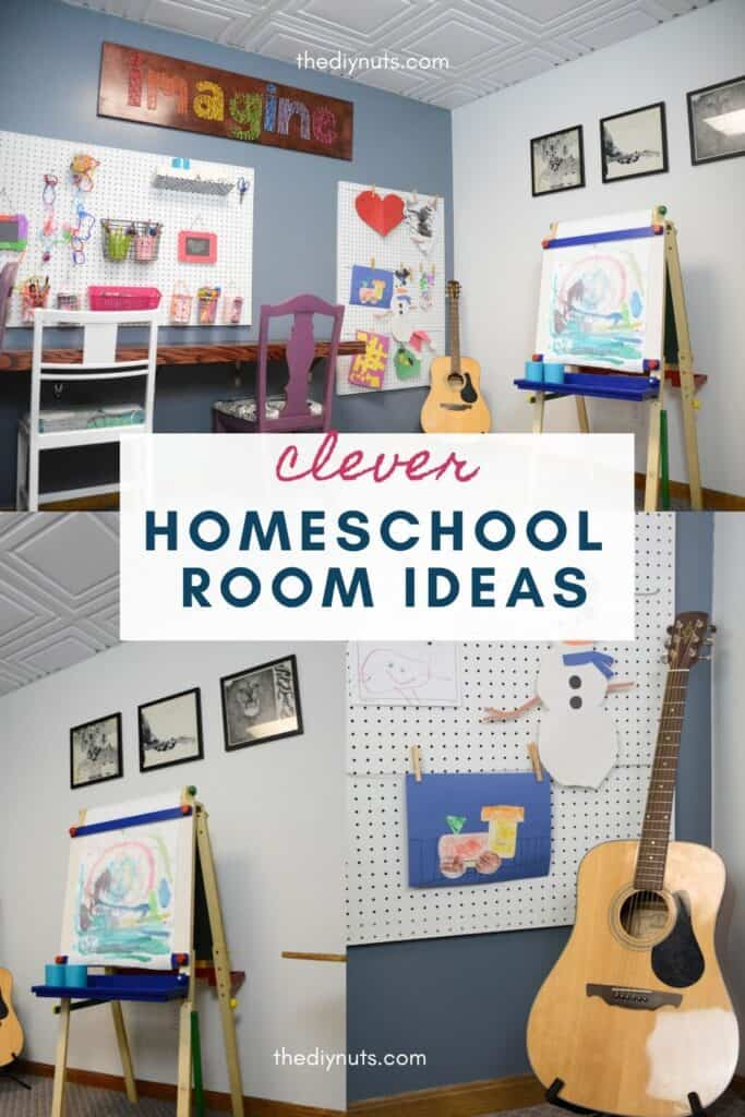 clever homeschool room ideas