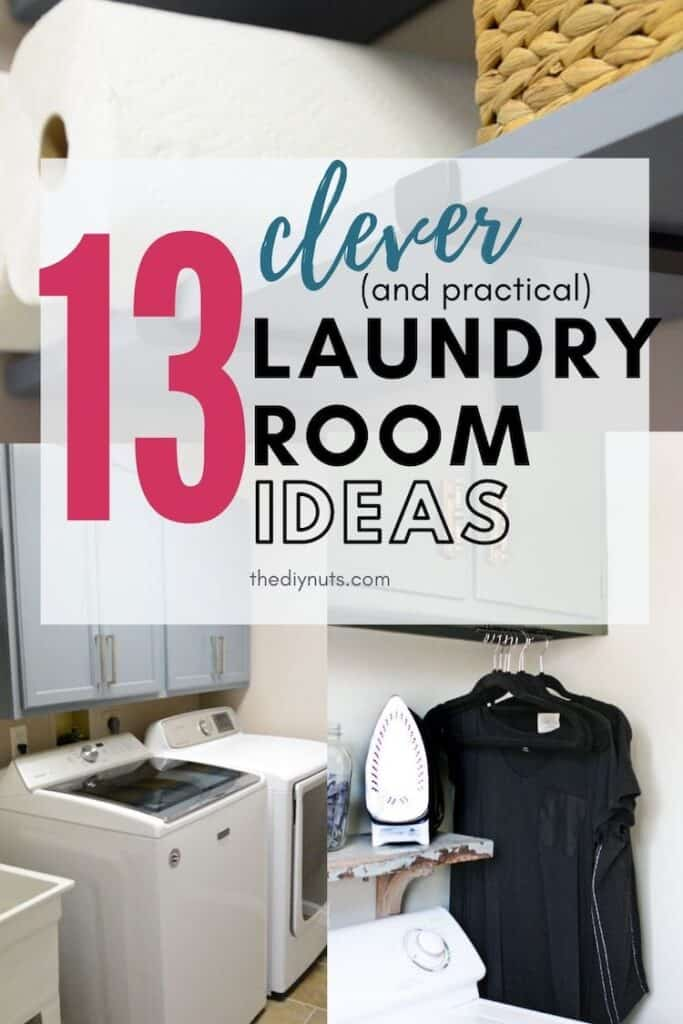 13 clever laundry room ideas