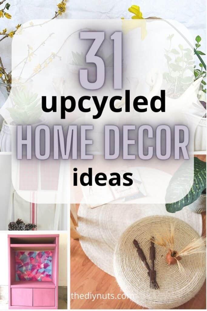 31 upcycled home decor ideas