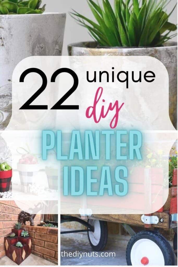22 unique diy planter ideas