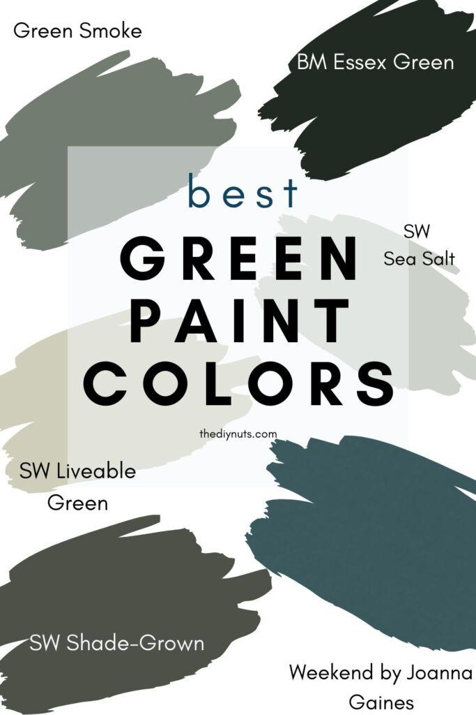 best green paint colors