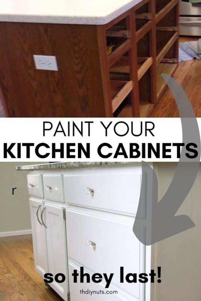 paint your kitchen cabinets so they last with oak kitchen before and white kitchen cabinets after