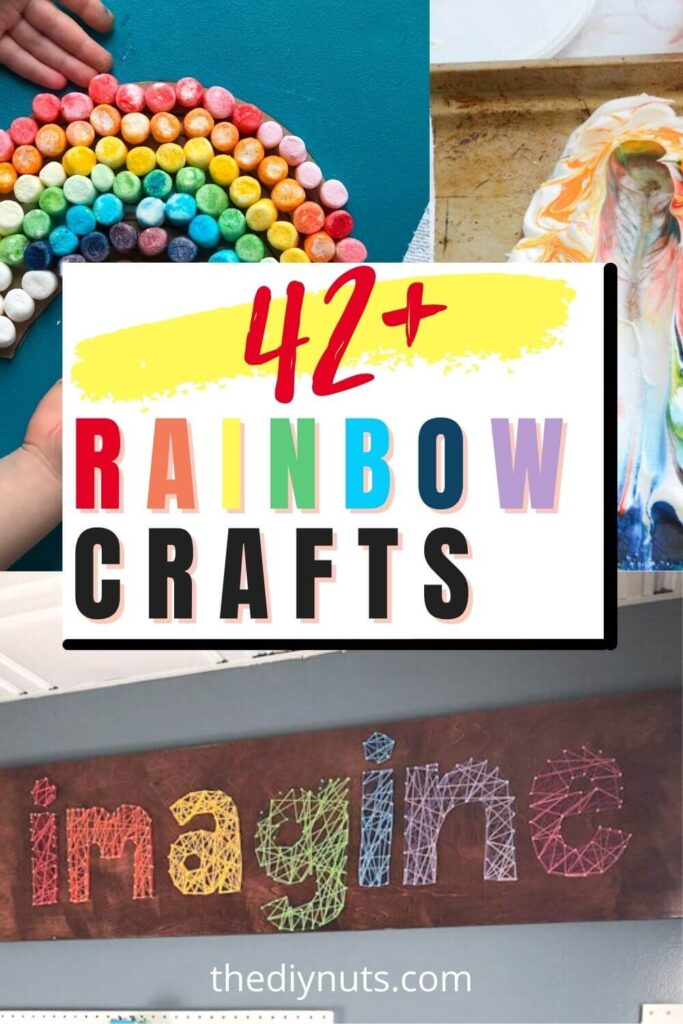 42+ Rainbow Craft idas for adults and kids
