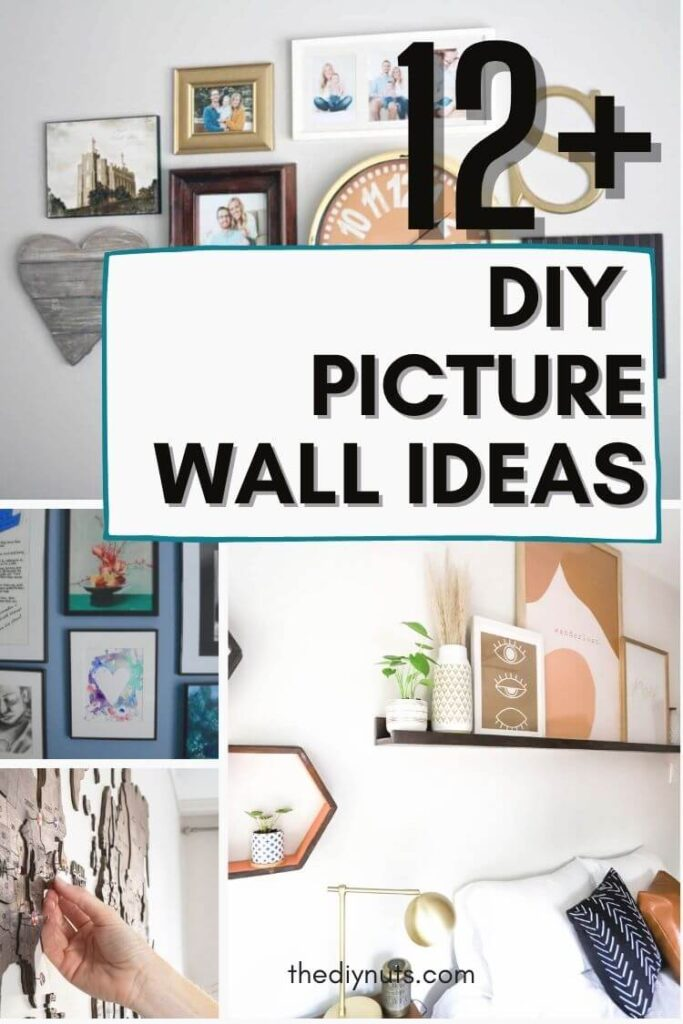 12+ DIY picture wall ideas