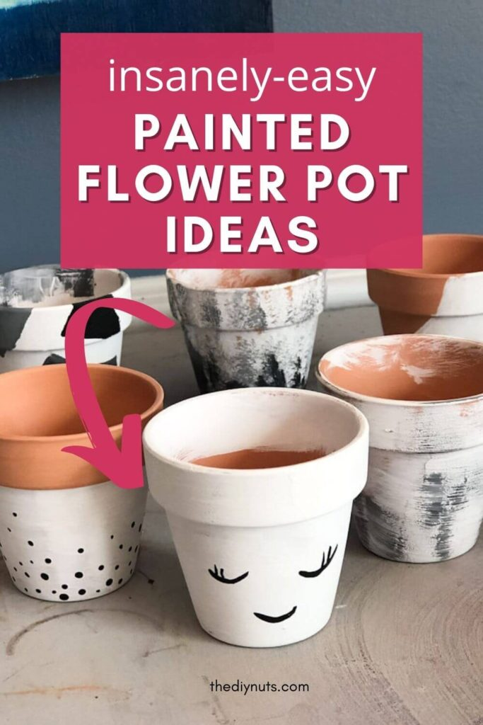 insanely-easy painted flower pot ideas
